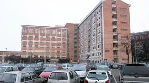 Vizzolo Predabissi - il parcheggio dell'ospedale