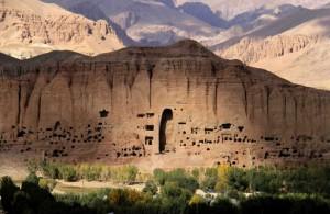 Bamiyan, Afghanistan, le statue buddiste distrutte